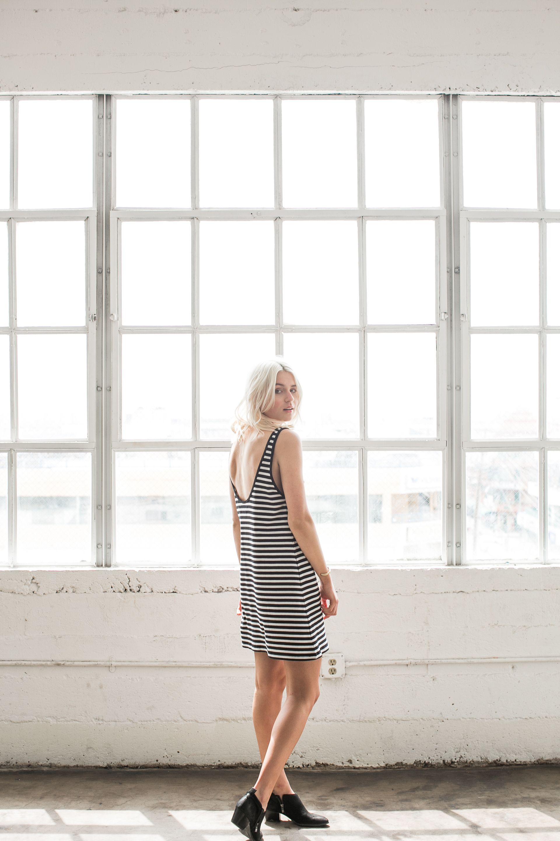 Feel liberated this summer in new dresses + tanks all in individually cut + sewn in Peru.