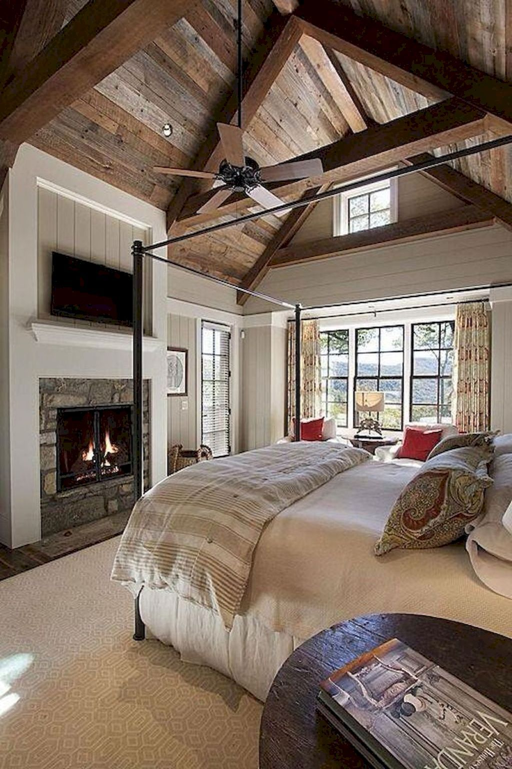 Master bedroom huge  Not everybody is fortunate enough to have a huge master bedroom in