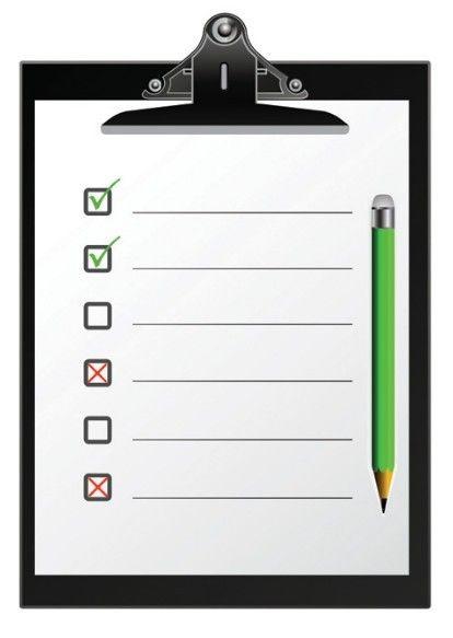 Checklist Clipboard Template Vector 01 Free Web\/Graphic Design - checklist template free