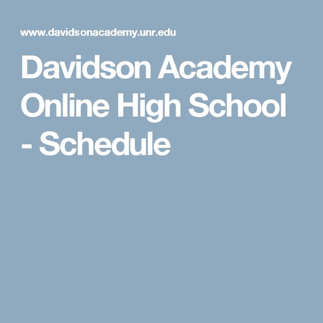 how to get school schedule online