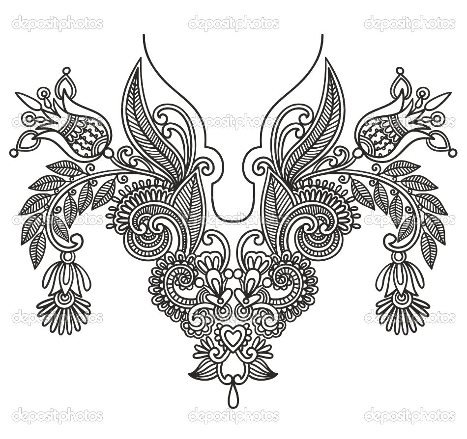 Mexican Embroidery Patterns Cool Decorating Ideas