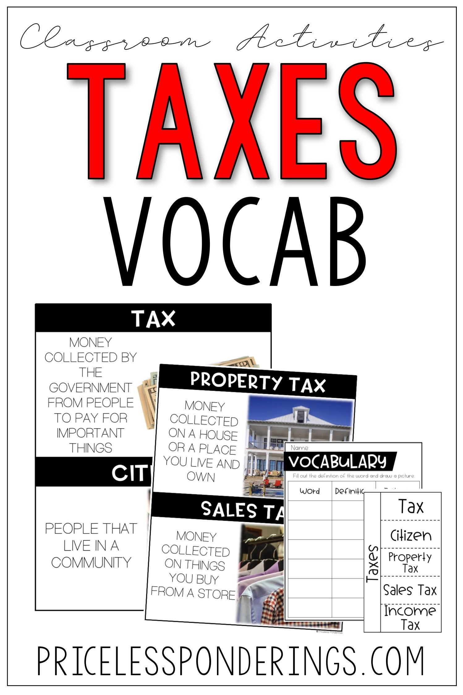 Taxes Activities