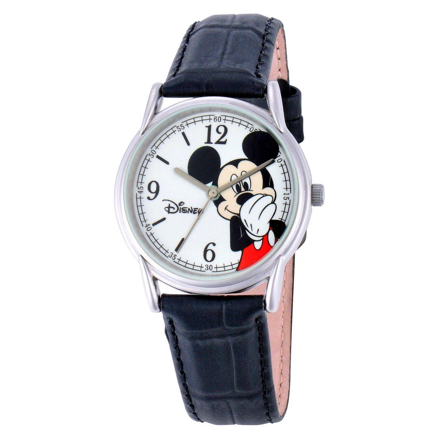 bdbd20229390 Men s Disney® Mickey Mouse Cardiff Watch - Black  Mickey