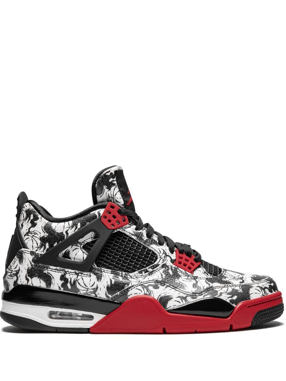 a58f93845ae5 JORDAN JORDAN AIR JORDAN 4 RETRO SNGL DY SNEAKERS - SCHWARZ.  jordan  shoes