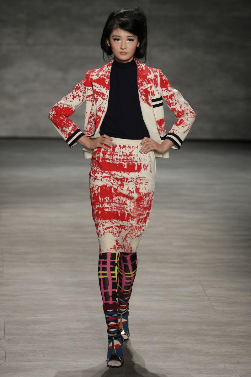 13 libertine NWFW - New York Fashion Week Fall-Winter 2014 - Libertine - Gallery - Modelixir Universe