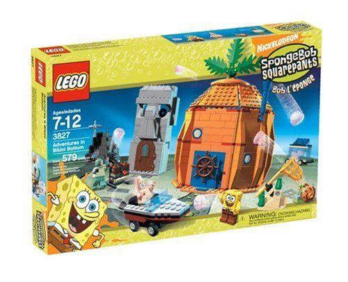 Lego Spongebob Adventures At Bikini Bottom Lego Spongebob Spongebob Squarepants Toys Spongebob