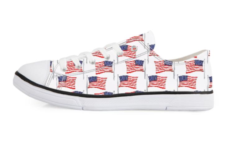 American Flag Women S Tennis Shoes Womens Tennis Shoes American Flag Shoes Tennis Shoes
