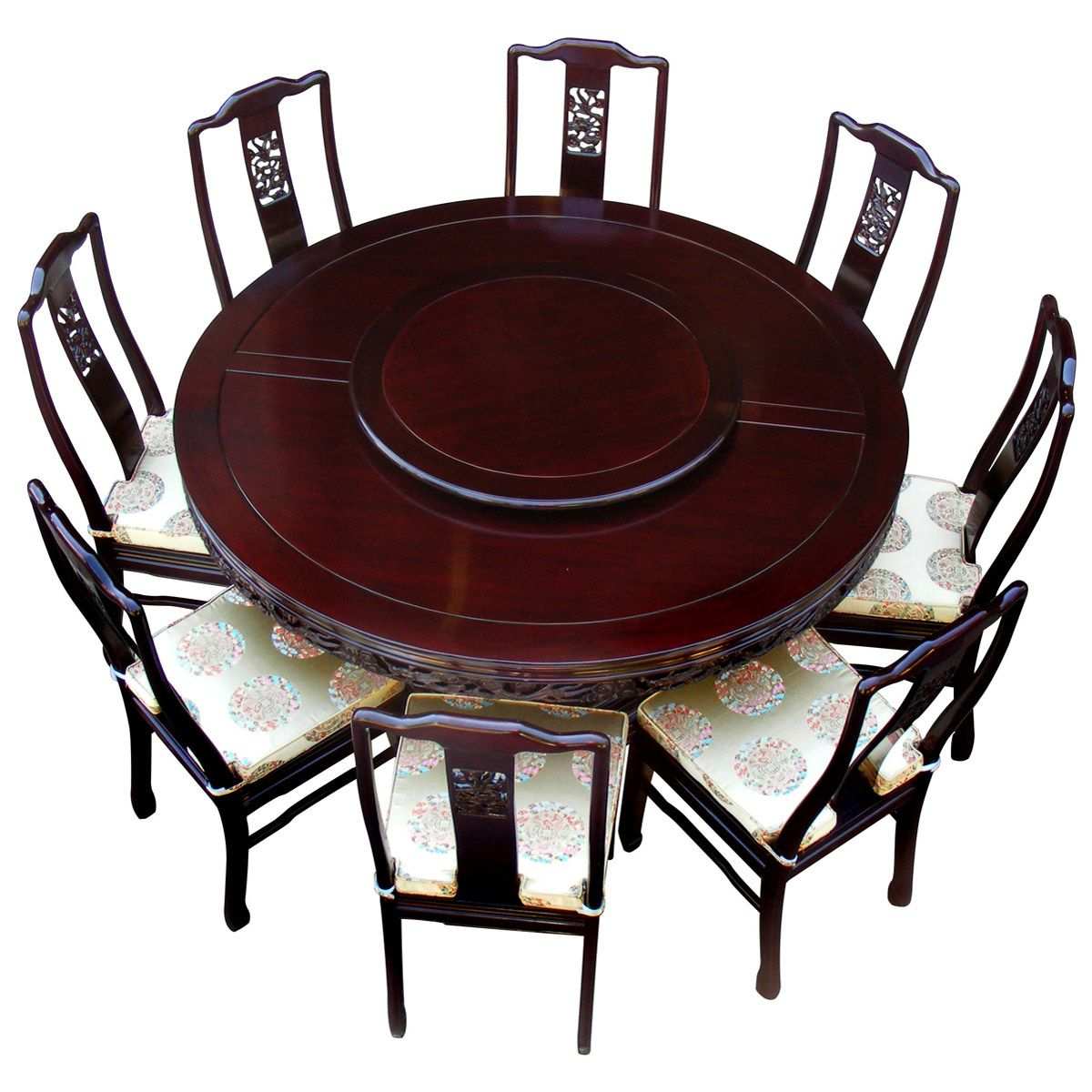 chinese rosewood dining table and chairs big nate dibs on this chair 60in dragon round with 8
