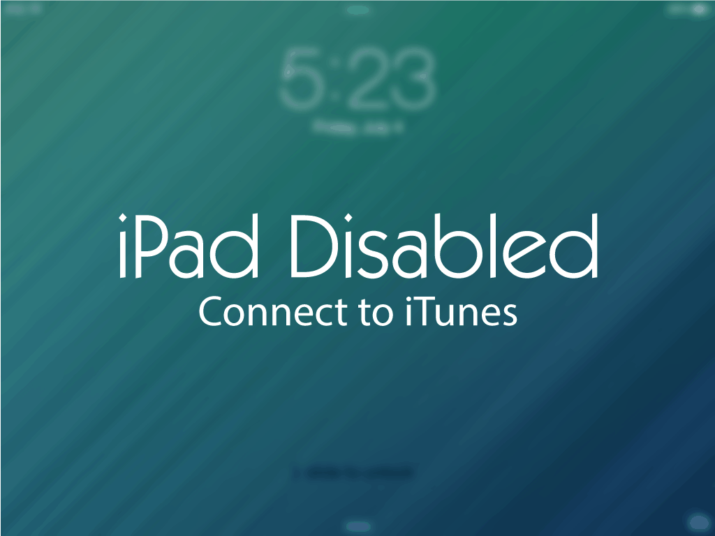 How To Reset iPad Without Password Ipad features, Ipad