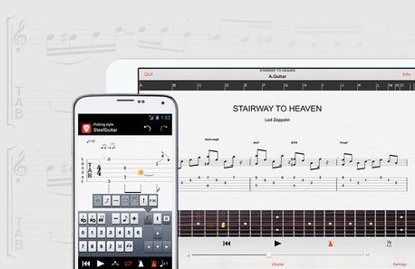 Guitar Pro 6 - Tablature software for guitar, bass, and other fretted instruments