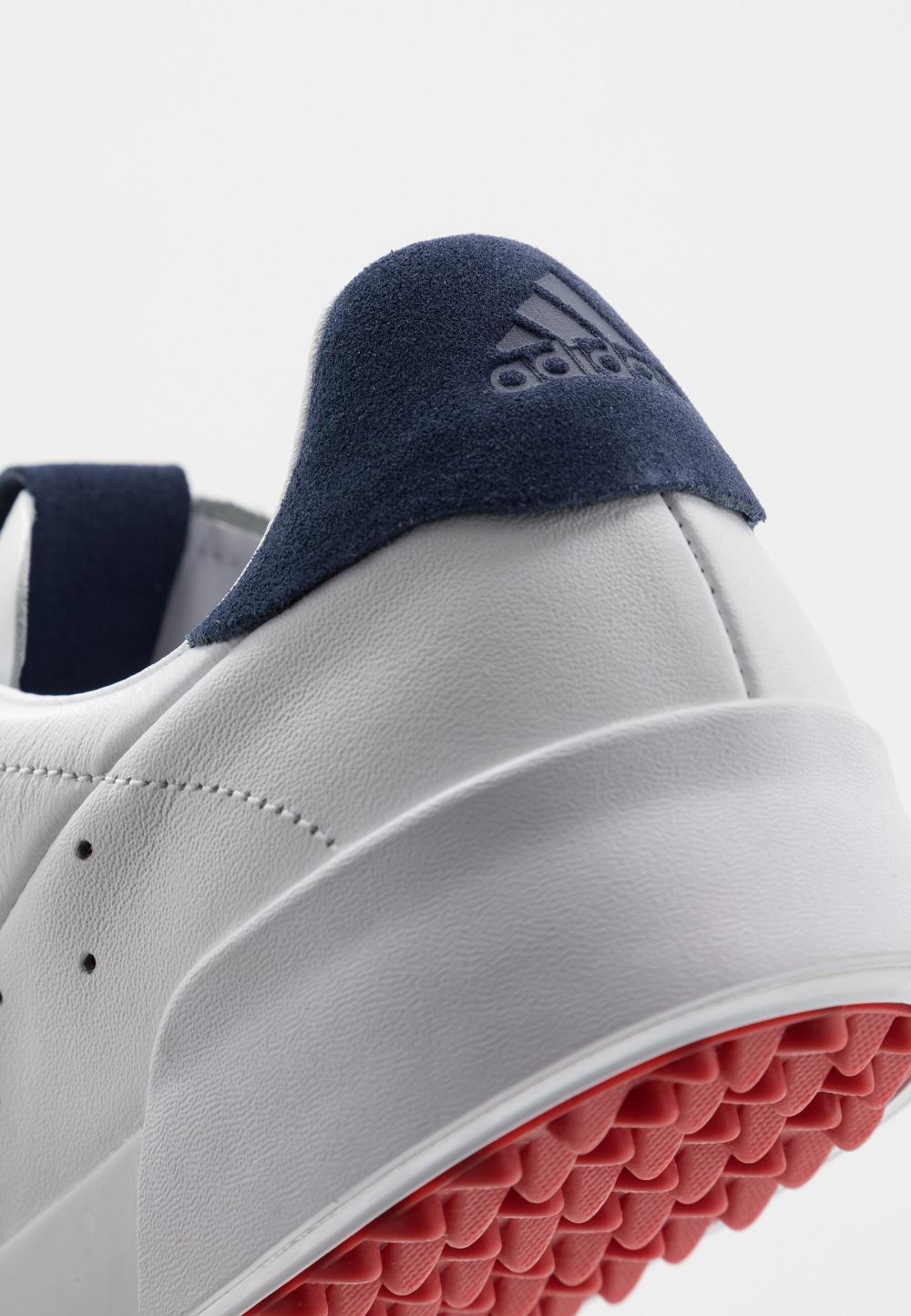 Adidas Golf Adicross Retro Golfschoenen Footwear White Silver Metallic Tech Indigo Wit Zalando Nl Golfschoenen Herenmode Sportschoenen