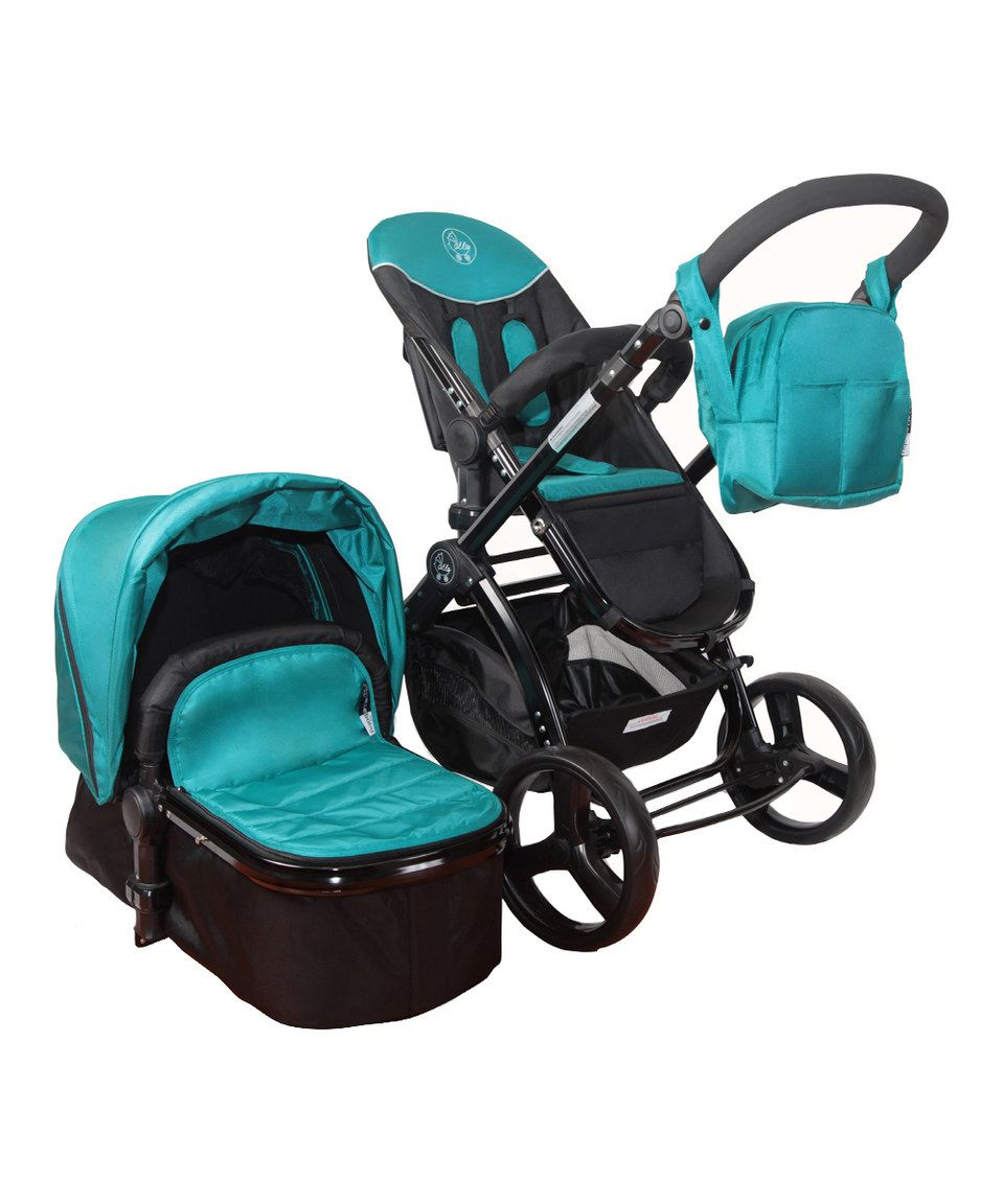 Loving this The City Fashion Teal Elle Baby Deluxe Travel