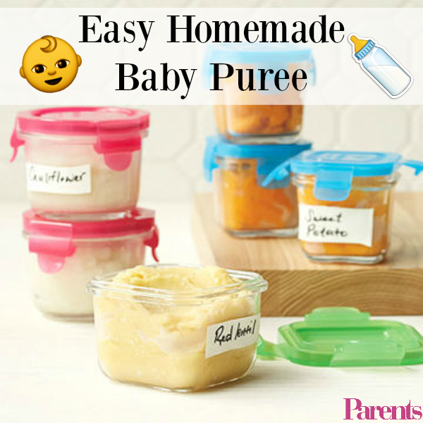 Easy Homemade Baby Food Recipes Homemade Baby Foods