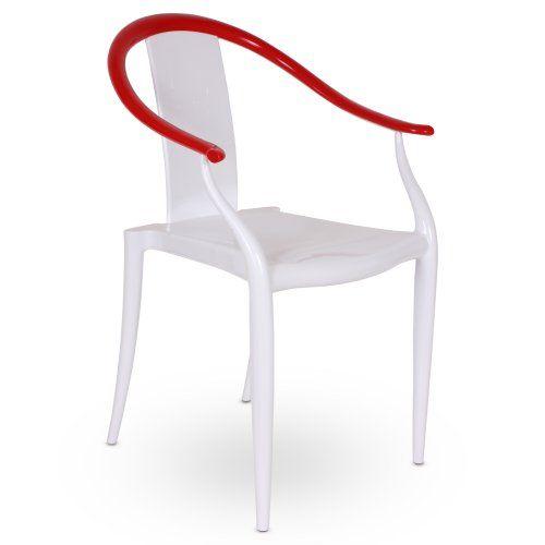Red Horseshoe Chair