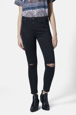 'Jamie' Ripped Skinny Jeans (Juniors)