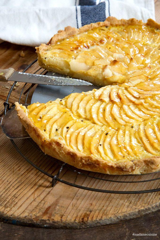 Französische Apfeltarte – Lieblingskuchen – Madame Cuisine