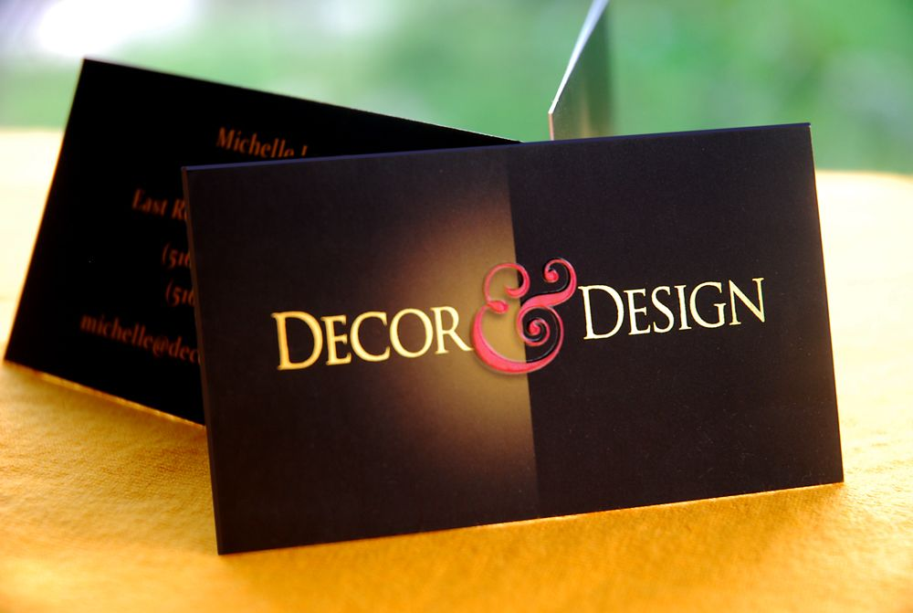 Interior design business cards google search office for Interior decor names