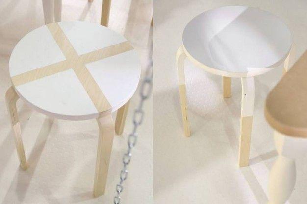 Ikea hacking: idee per personalizzare lo sgabello frosta