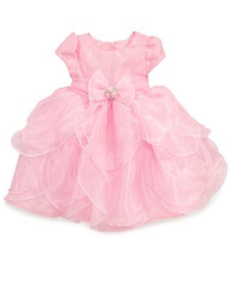 Nannette Little Girls' Organza Dress | macys.com