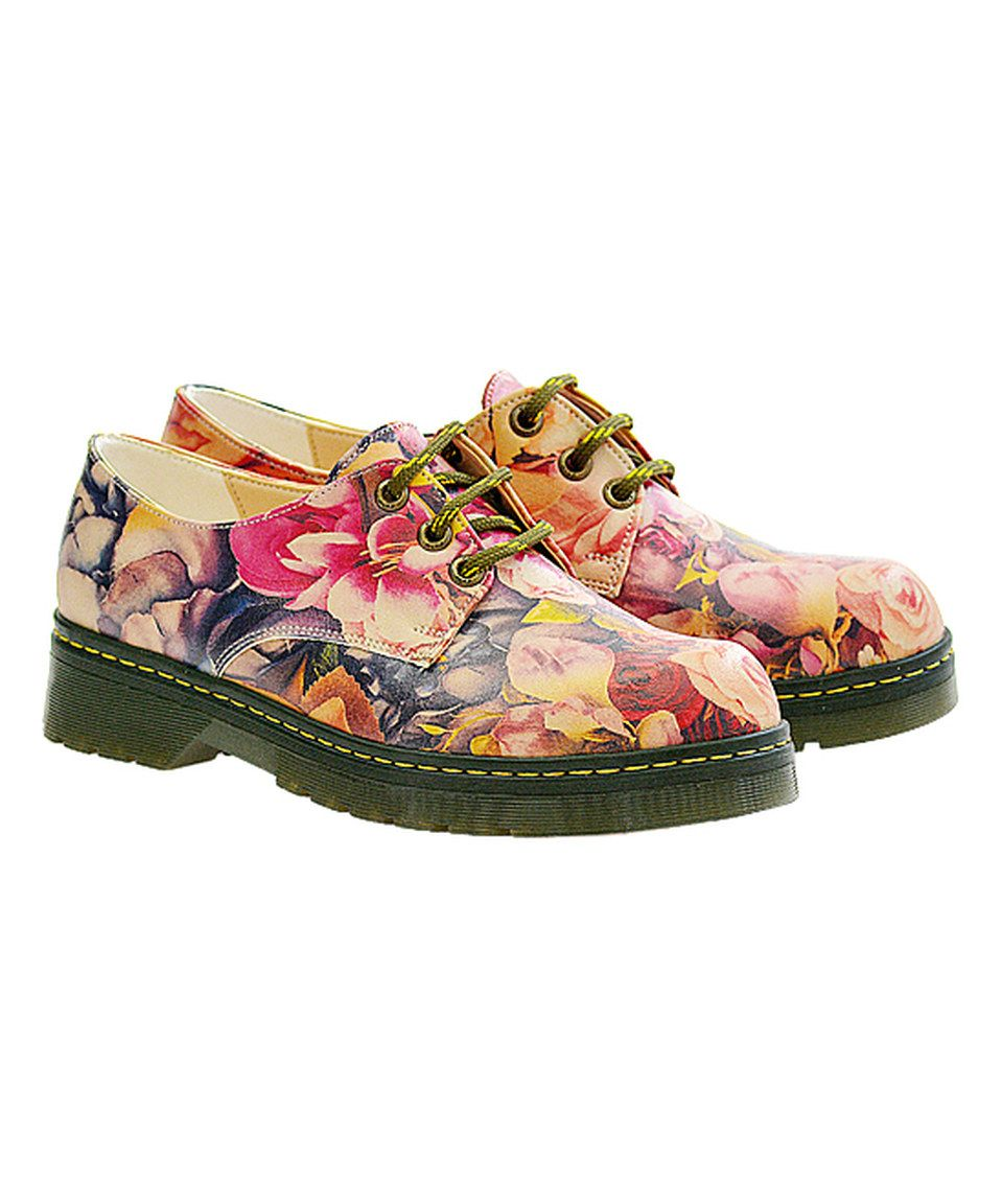 Take a look at this Pink Floral Oxford  - Women today!