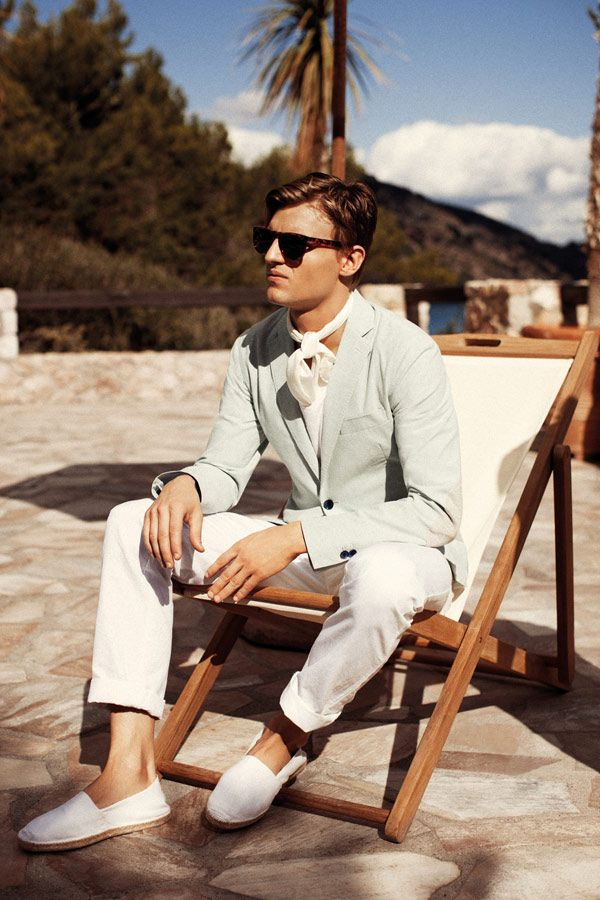 Oliver Cheshire & Reid Prebenda are in a Cheerful Mood for Henry Cotton's Spring/Summer 2013 Campaign
