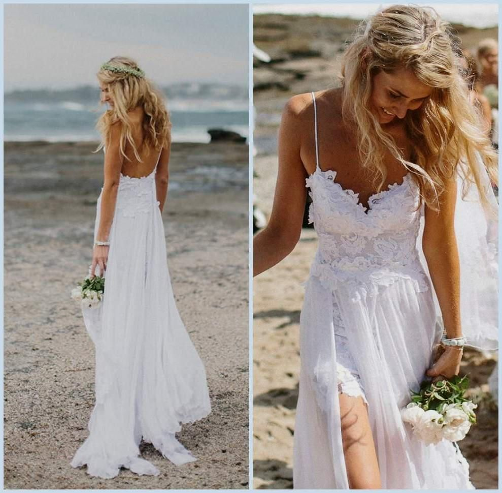 Beach Wedding Dresses Looking Stunning for the Event   My Wedding ...