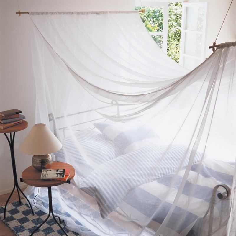 Komfort-Moskitonetz Polyester Moskitonetz, Stechmücken und Heimisch - schlafzimmer einrichtung nachttischlampe