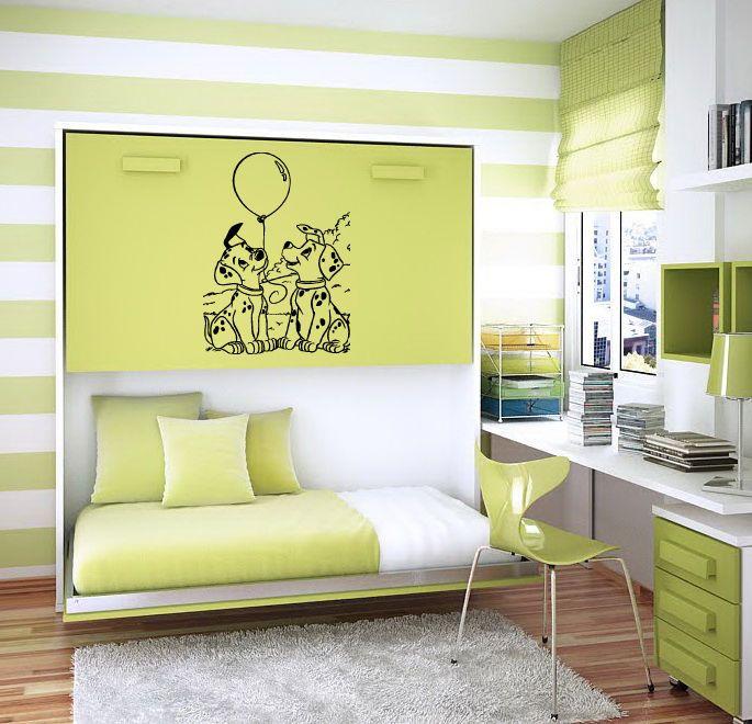 DOLMATINES WALL ART STICKER BABY ROOM NURSERY B1031 #MuralArtDecals ...