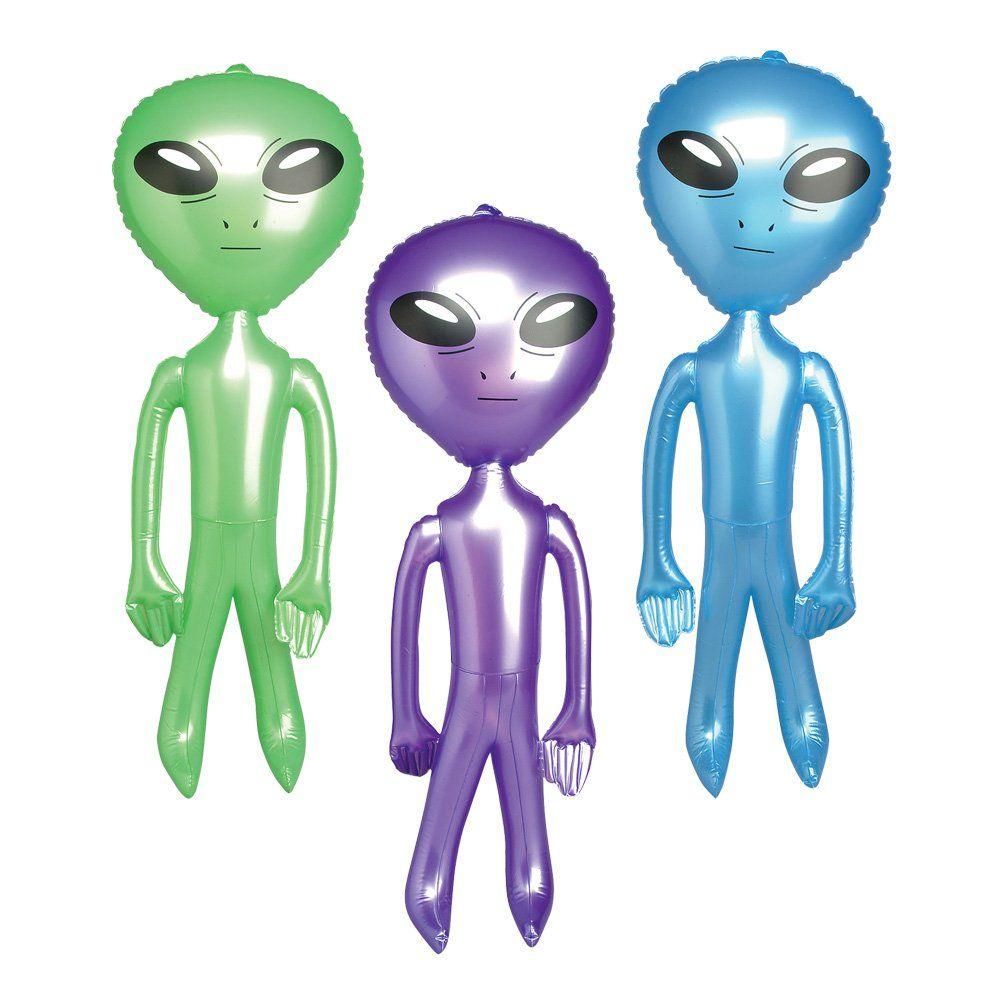 Alien Inflatable 24 inch (1 Dozen) | Employee Appreciation Day ...
