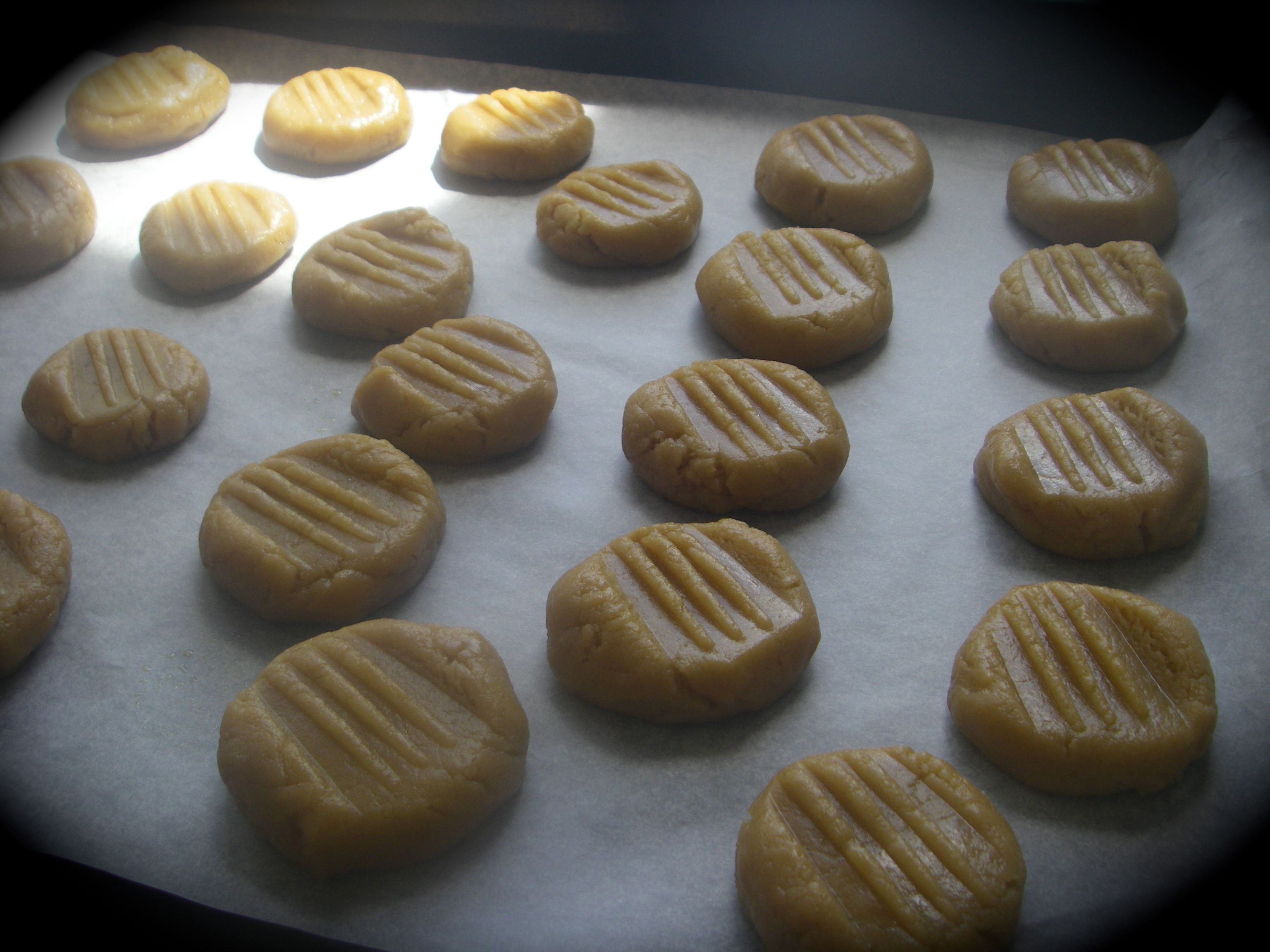 One pot crispy ginger nuts about to enter the oven.  #afreerangelife   @Annabel Langbein