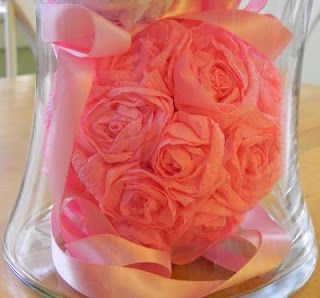 Crepe paper roses tutorial i want to make pinterest rose crepe paper roses tutorial mightylinksfo