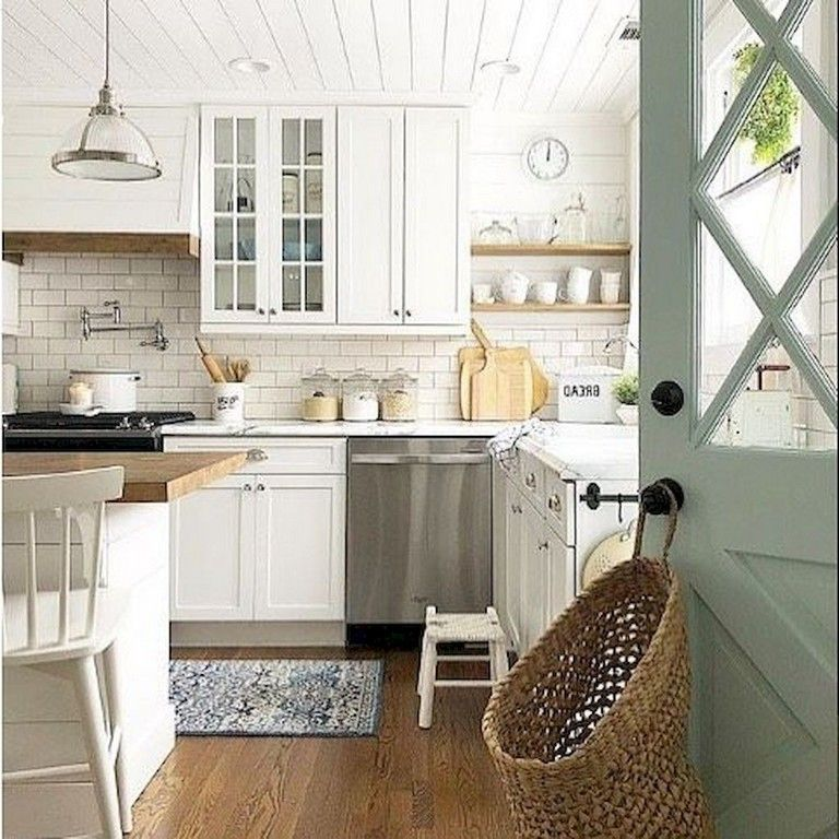 58 Top Rug For Farmhouse Kitchen Ideas Farmhouse Style Kitchen Kitchen Styling Kitchen Cabinet Design