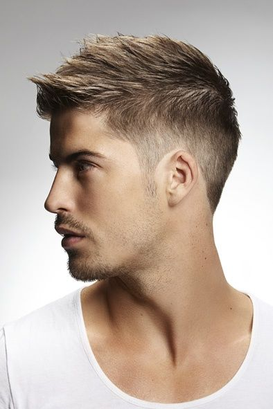 How To Style Short Hair Men Pinterest