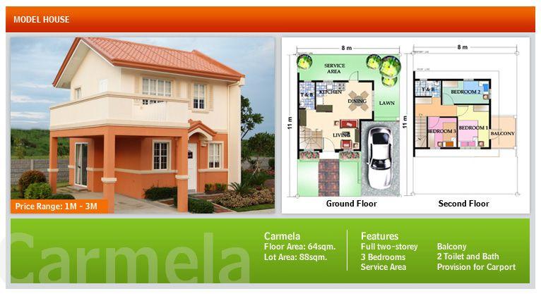Camella homes daang hari alabang model house | Home and house ...