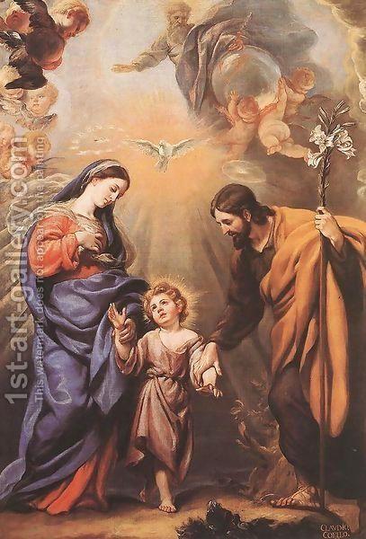 Sagrada Família por Claudio Coello