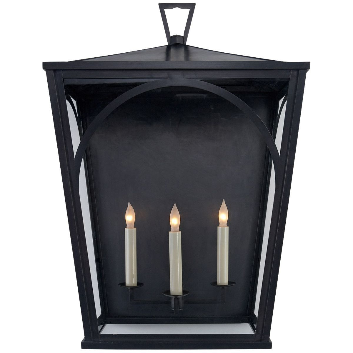Visual Comfort E.F. Chapman Darlana 3 Light 25-Inch Outdoor Sconce