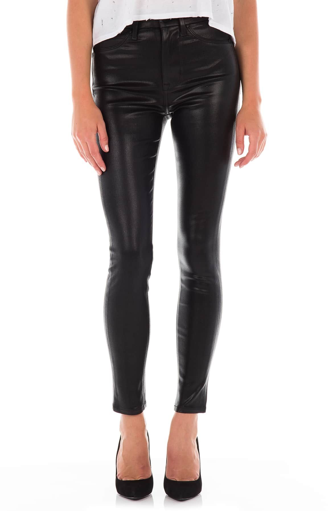 5c0d428a957b28 Luna Coated High Waist Skinny Ankle Jeans, Main, color, … | Wantable ...