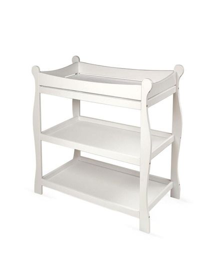 Gallery For Photographers Sleigh Changing Table by Badger Basket on Gilt Love the ment to use for a