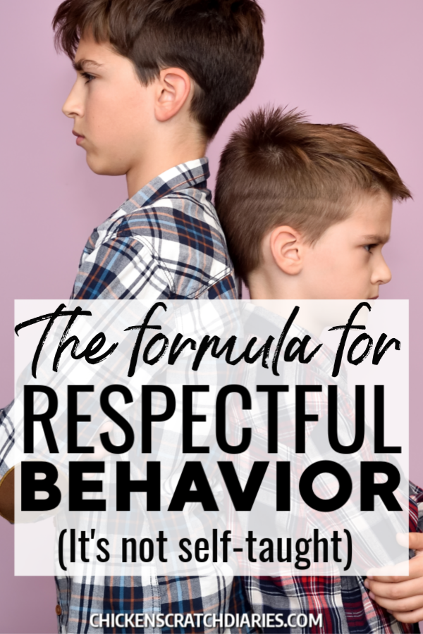 Photo of Inspiring Respectful Behavior: a Positive Approach for Parents » Chicken Scratch Diaries