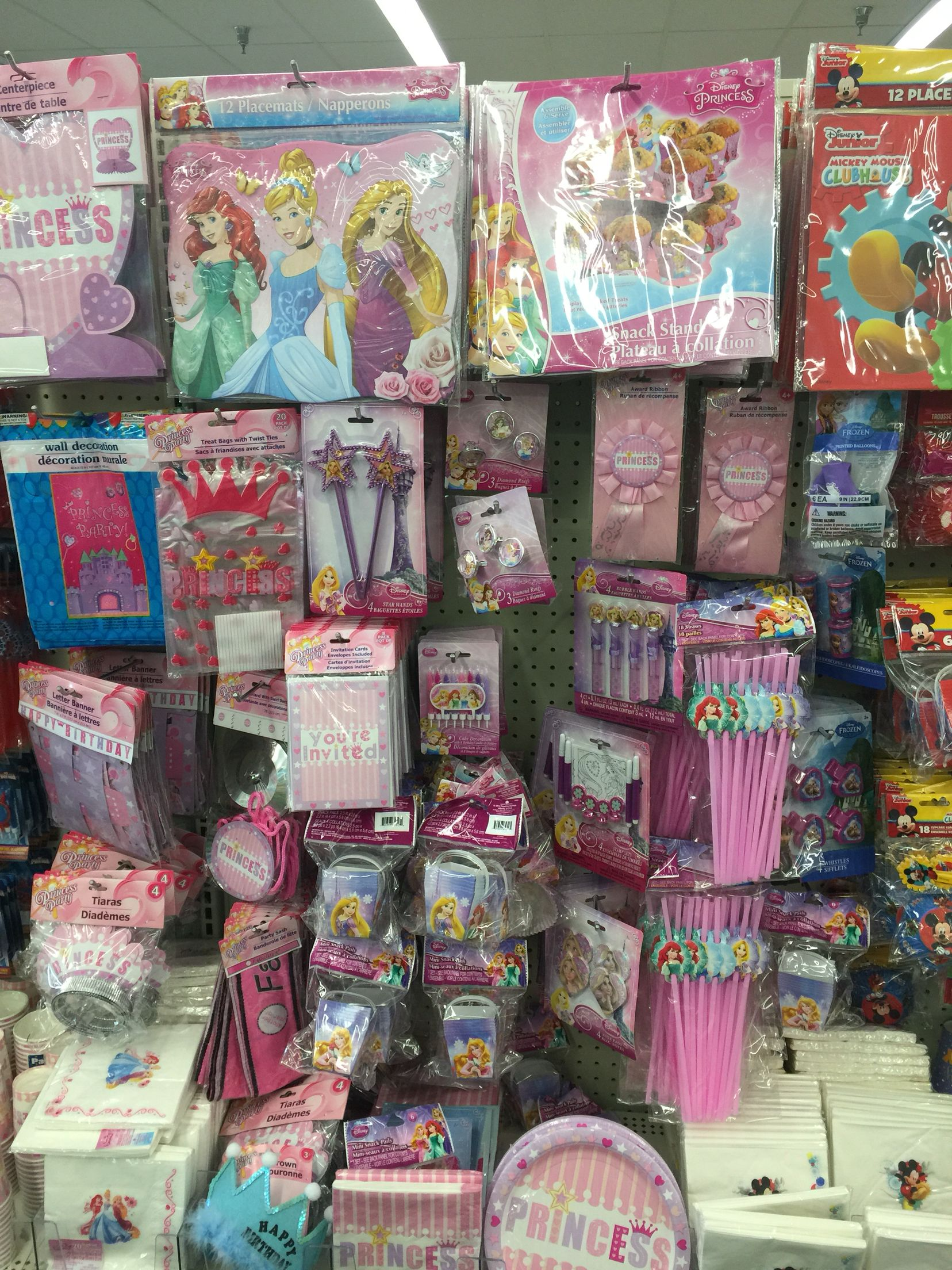 Dollar Tree Disney Princess Party Jackpot Disney Princess Party Equestria Girls Birthday Party Dollar Tree Birthday