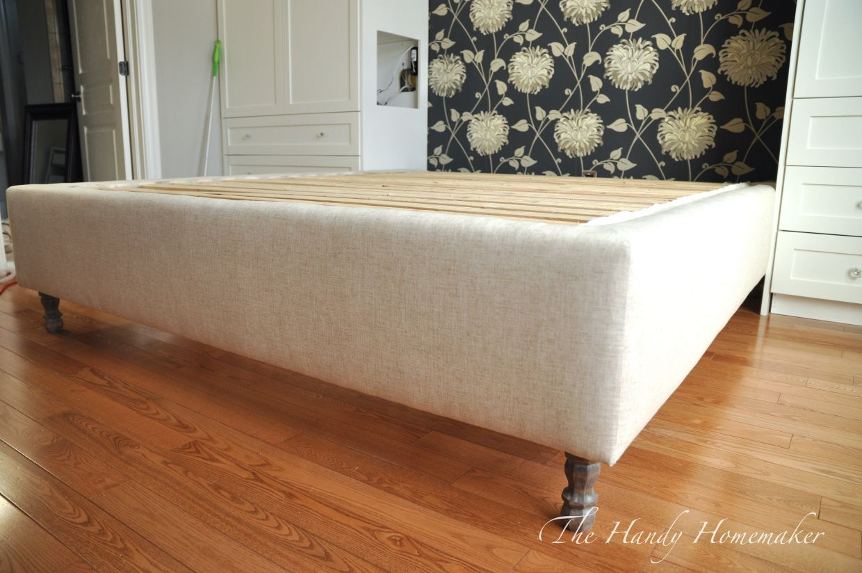 DIY upholstered bed frame | DIY | Pinterest