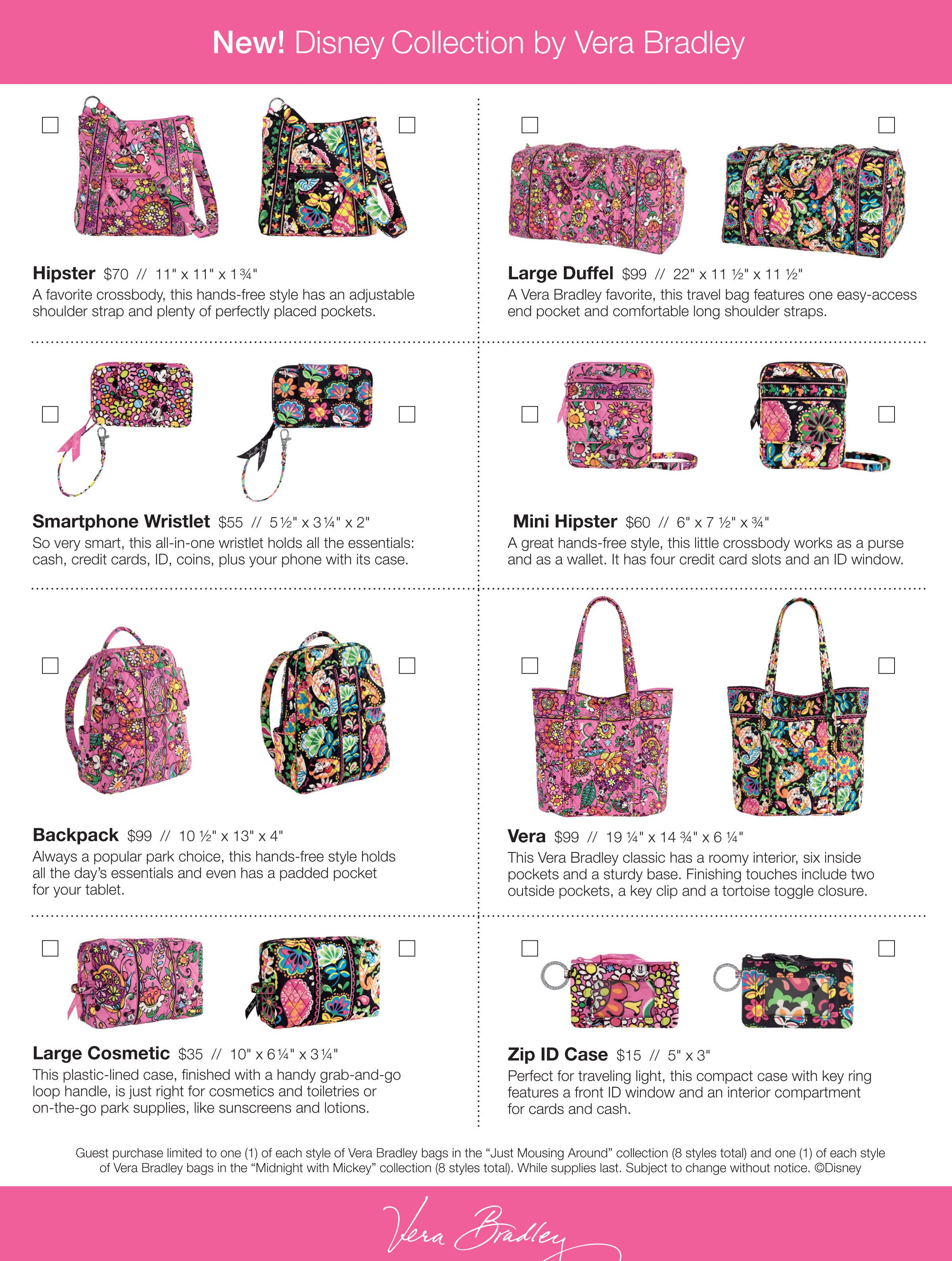 8e78fd456f Disney Collection by Vera Bradley Release Party by Contributing Author  Lucinda Adania - The Adult Side of Disney