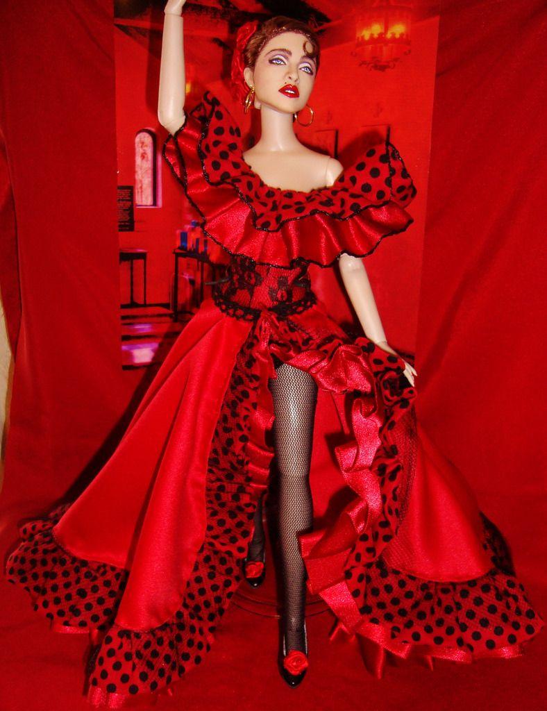 Madonna Dolls Tumblr Madonna Fashion Fashion History Celebrity Barbie Dolls