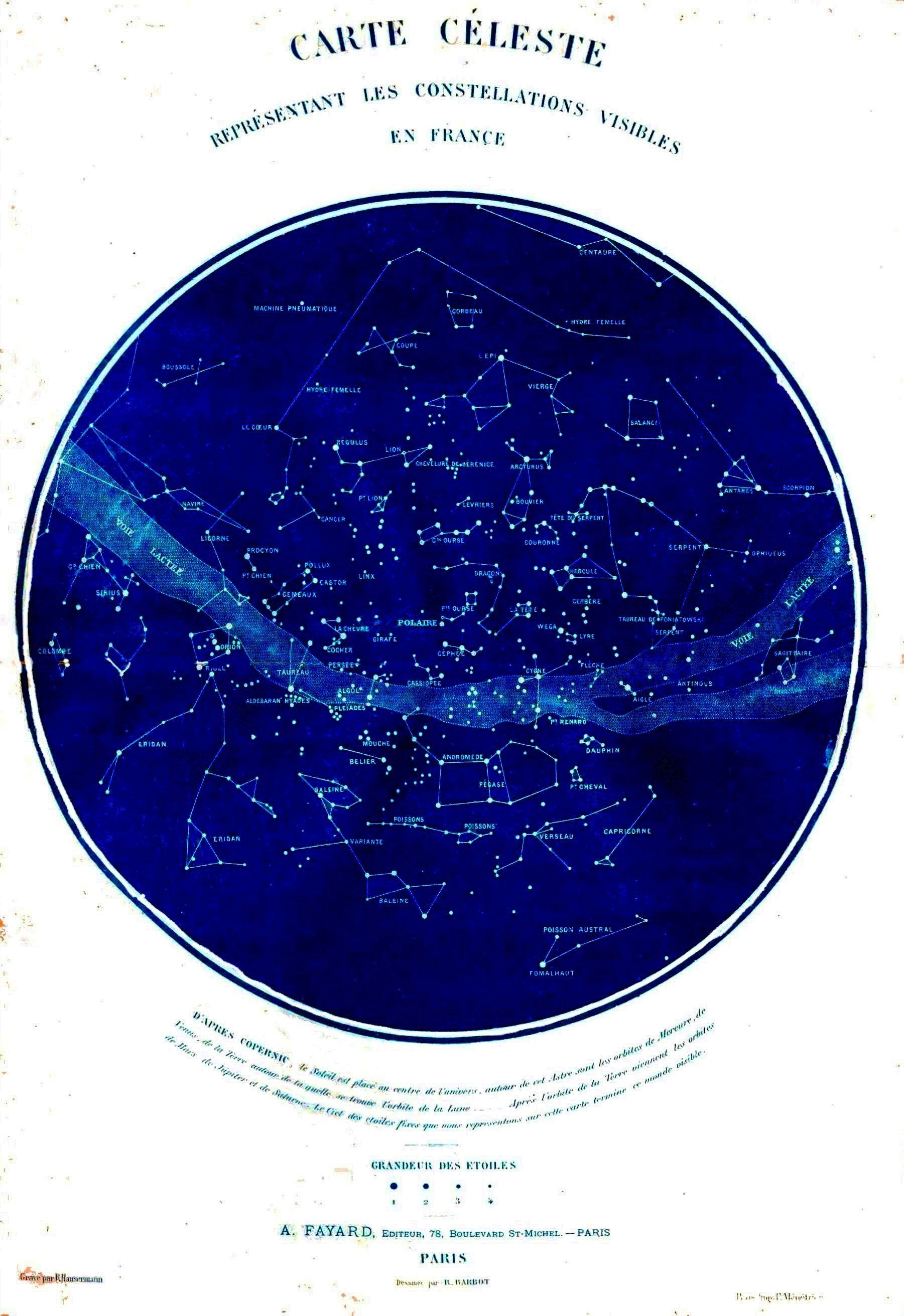Science Astronomy Map Celestial Map Of Constellations