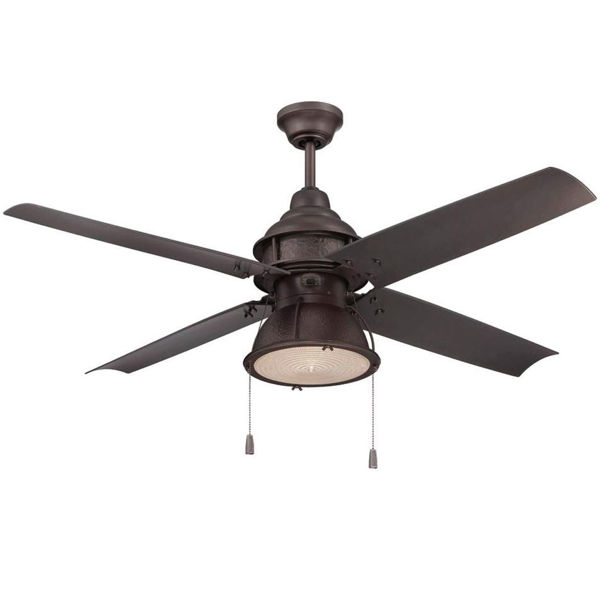 "52"" Indoor/Outdoor Rugged All Weather Ceiling Fan ..."