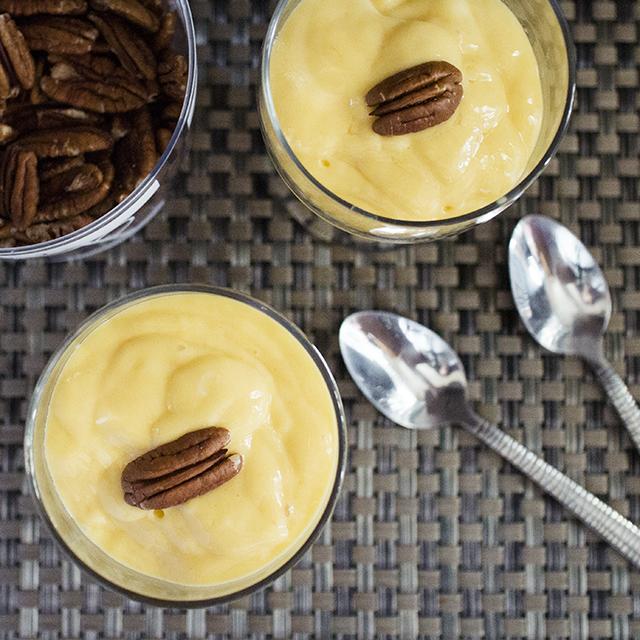 Receta Postre De Mango Con Yogurt Griego Postres Fríos Postres Creativos Comidas Dulces