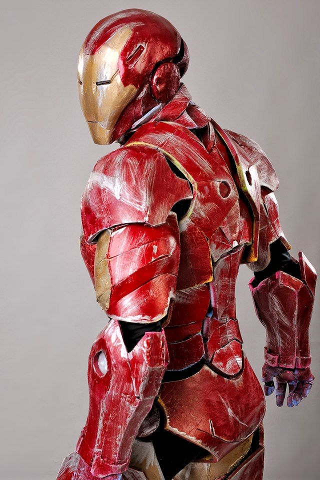 Iron Man Model 30 The Extremis Armor Iron Man Comic Iron Man Marvel Comics