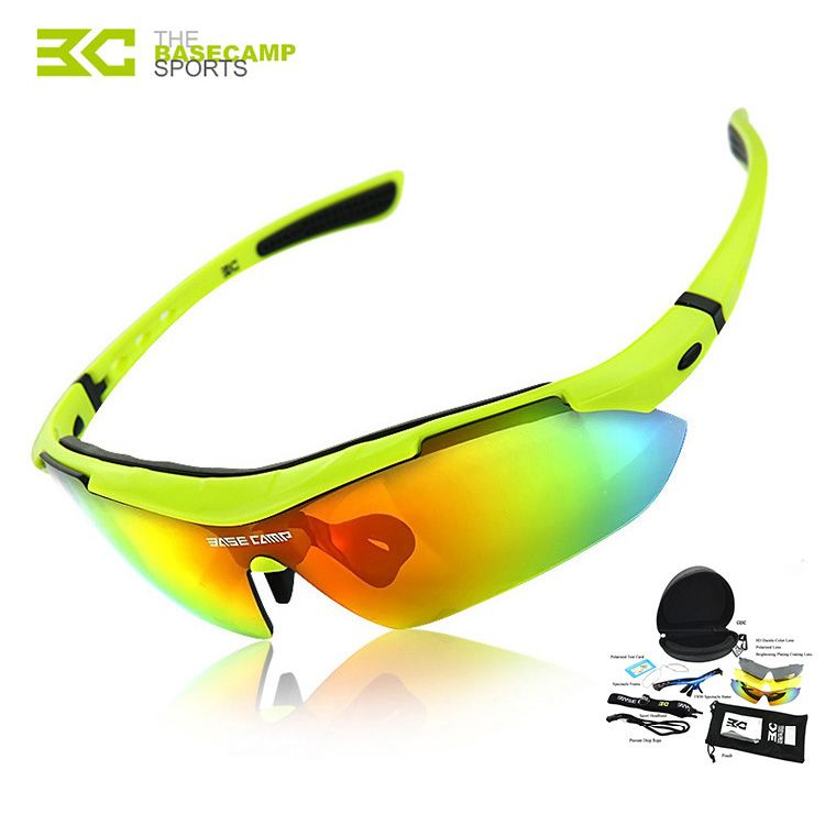 539151d4c0 Basecamp Outdoor Sport Cycling Bike Bicycle Eyewear Glasses Riding  Professional Polarised Goggles Sunglasses Las gafas