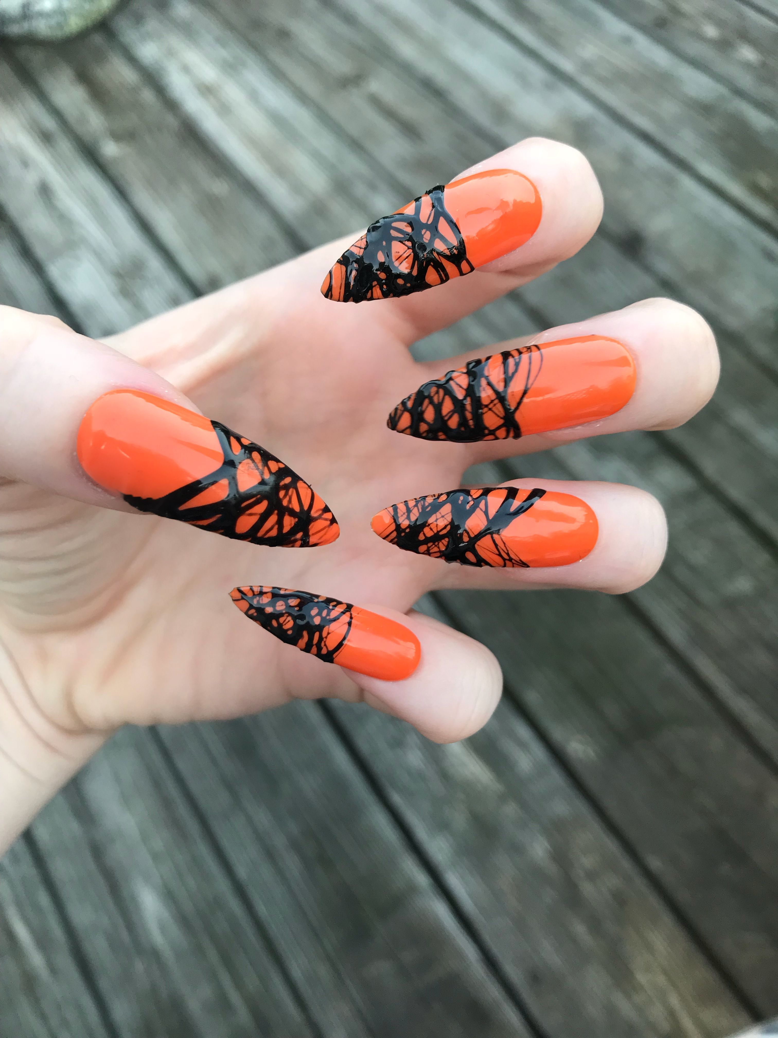 Halloween Press On Nails! These nails are perfect for ...