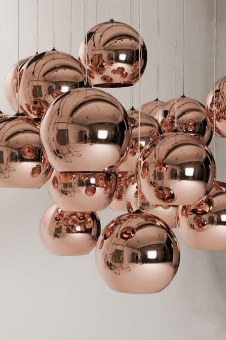 Tom Dixon Lighting A Design Icon In The Making Koperen Verlichting Koperen Hanglampen En Koperen Lampen